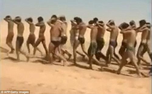 Phiến quân IS lột truồng, xử tử 250 binh sĩ Syria - 2