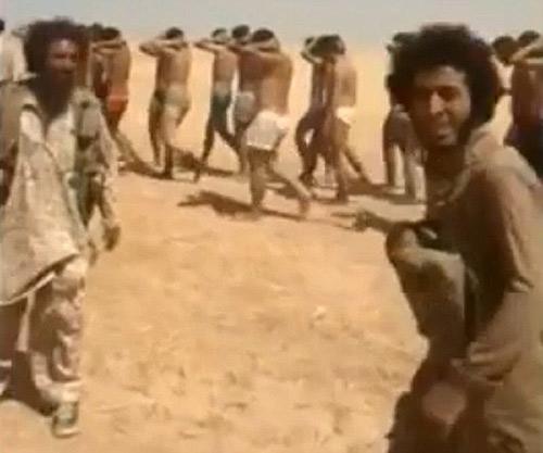 Phiến quân IS lột truồng, xử tử 250 binh sĩ Syria - 3