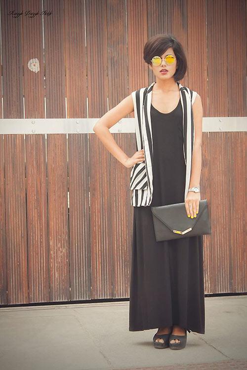 Thiếu nữ Ấn Độ nổi tiếng thế giới nhờ mặc đẹp - 6