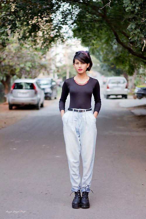 Thiếu nữ Ấn Độ nổi tiếng thế giới nhờ mặc đẹp - 8