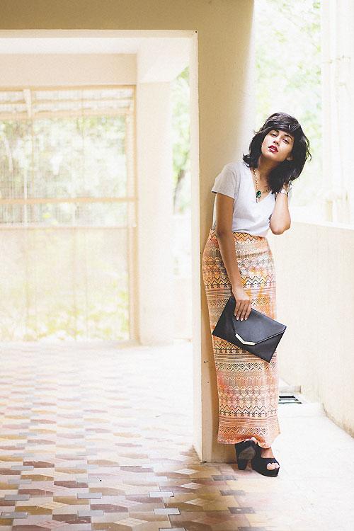 Thiếu nữ Ấn Độ nổi tiếng thế giới nhờ mặc đẹp - 2