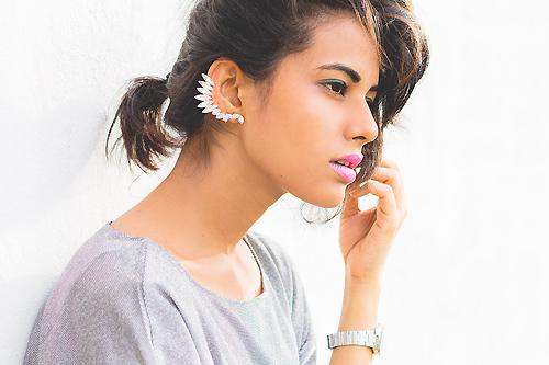 Thiếu nữ Ấn Độ nổi tiếng thế giới nhờ mặc đẹp - 12
