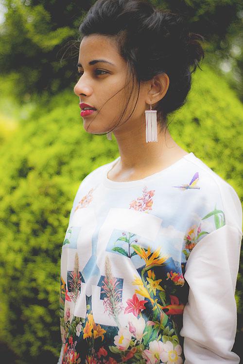 Thiếu nữ Ấn Độ nổi tiếng thế giới nhờ mặc đẹp - 13