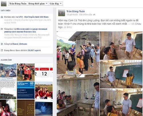 GS Ngô Bảo Châu dạy Toán cho trẻ vùng cao - 1