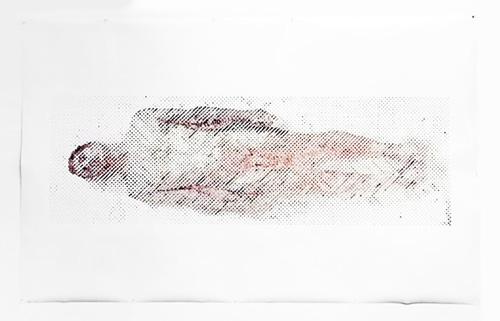 Robot vẽ chân dung từ máu của nghệ sĩ - 3