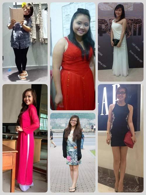 Thiếu nữ Việt xinh đẹp, gợi cảm bất ngờ nhờ giảm béo - 2