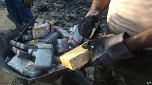 Cảnh sát Peru bắt giữ lượng ma túy lớn kỷ lục - 1