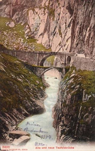"""Khám phá """"cây cầu của quỷ"""" ở Thụy Sĩ - 2"""