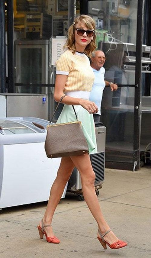 Không tốn kém vẫn đẹp như Taylor Swift lúc vào thu - 2