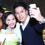 Thời trang - Diễm Hương bầu 5 tháng lần đầu công khai bạn trai