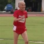"""Thể thao - Usain Bolt 103 tuổi của Nhật Bản thách thức """"Tia chớp"""""""