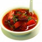 Ẩm thực - Canh củ cải hầm thịt bò