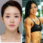 Làm đẹp - Hàn Quốc: Mỹ nhân cơ bắp sẽ hạ gục người đẹp dao kéo?