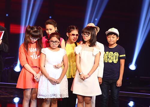 """Hoàng Anh """"tóc xù"""" bùng nổ tại The Voice Kids - 12"""