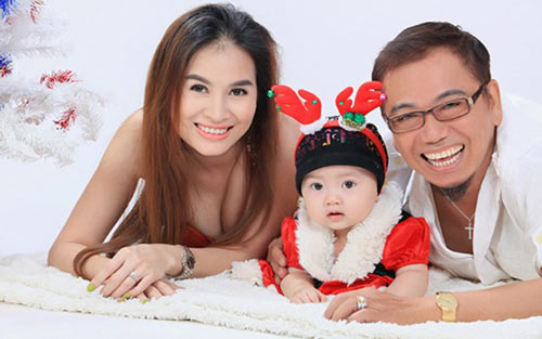 """Vợ đẹp như """"sao"""" của các danh hài Việt - 1"""