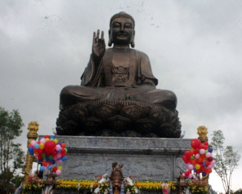 Khánh thành tượng Phật lớn nhất Đông Nam Á ở Nam Định | videohai