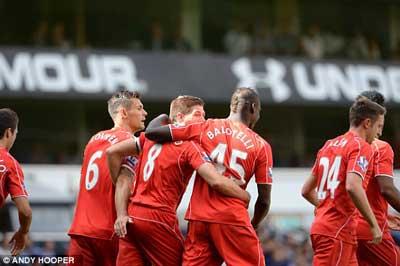 TRỰC TIẾP Tottenham - Liverpool: Đại phá White Hart Lane (KT) - 6