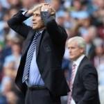 Bóng đá - Man City thua sốc, Pellegrini chỉ trích trọng tài