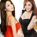 """Thời trang - Mỹ nữ Hàn """"đốn tim"""" với váy ôm sát cơ thể"""