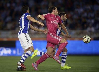 TRỰC TIẾP Sociedad - Real: Hàng thủ tệ hại (KT) - 4