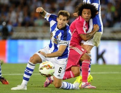 TRỰC TIẾP Sociedad - Real: Hàng thủ tệ hại (KT) - 5