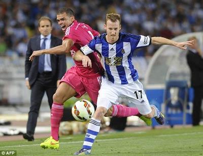 TRỰC TIẾP Sociedad - Real: Hàng thủ tệ hại (KT) - 6