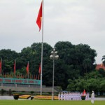 Tin tức trong ngày - Trang trọng lễ chào cờ mừng ngày Quốc khánh