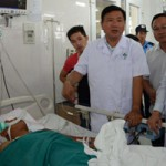 Tai nạn thảm khốc: Chuyển bệnh nhân nặng lên tuyến trên