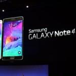 Samsung trình làng siêu phẩm Galaxy Note 4