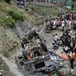 Tin tức trong ngày - Ấn Độ: Xe buýt bị lũ cuốn trôi, ít nhất 32 người chết