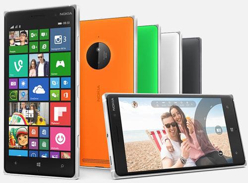 Nokia Lumia 830 thiết kế mỏng, nhẹ giá mềm - 2