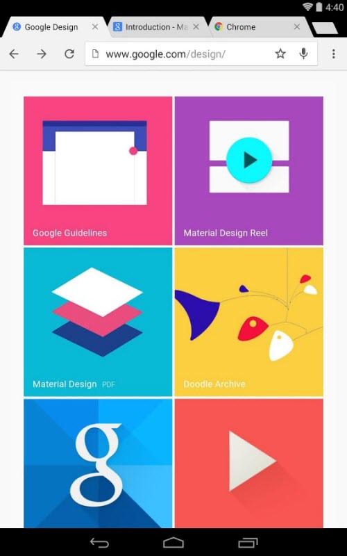 Chrome 37 trình làng trên Android: Giao diện Material Design - 4