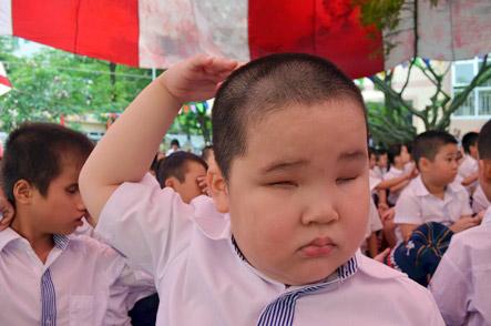 Xúc động lễ khai giảng của học sinh khiếm thị Hà Nội - 10