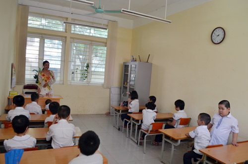 Xúc động lễ khai giảng của học sinh khiếm thị Hà Nội - 13