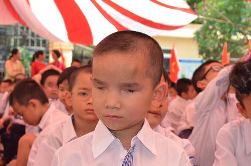 Xúc động lễ khai giảng của học sinh khiếm thị Hà Nội - 4