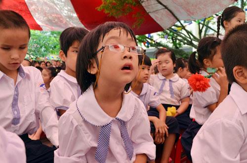 Xúc động lễ khai giảng của học sinh khiếm thị Hà Nội - 7