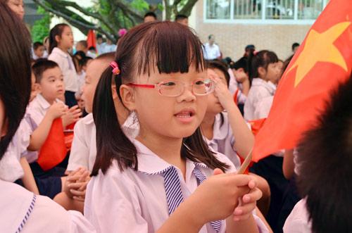 Xúc động lễ khai giảng của học sinh khiếm thị Hà Nội - 8