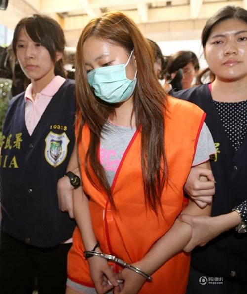 """Đài Loan: Phá ổ mại dâm toàn """"mỹ nhân"""" nước ngoài - 3"""