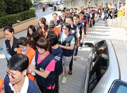 """Đài Loan: Phá ổ mại dâm toàn """"mỹ nhân"""" nước ngoài - 1"""
