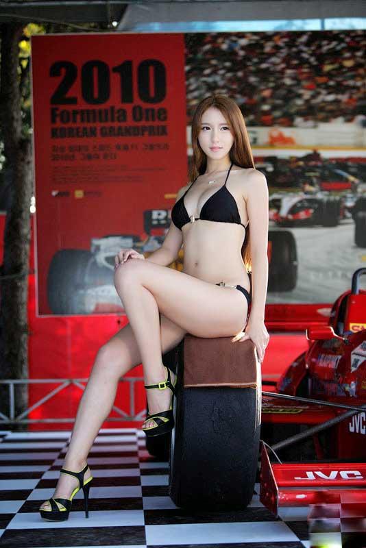 Vẻ nóng bỏng quyến rũ của siêu mẫu 9X Hàn Quốc - 12
