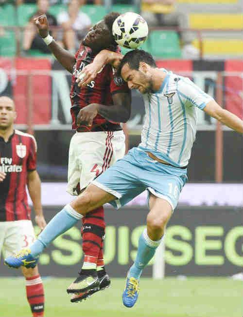Bệnh cũ của Lazio lại tái phát - 1