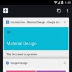Chrome 37 trình làng trên Android: Giao diện Material Design