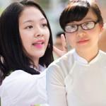 Bạn trẻ - Cuộc sống - Nữ sinh Hà Nội rạng rỡ ngày tựu trường