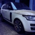 Ô tô - Xe máy - Xe tiền tỷ Range Rover Autobiography 2013 phủ bụi tại VN