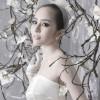 Hình ảnh hiếm hoi Quỳnh Nga diện váy cưới