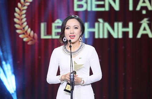 Hoài Anh đoạt giải BTV lên hình ấn tượng nhất