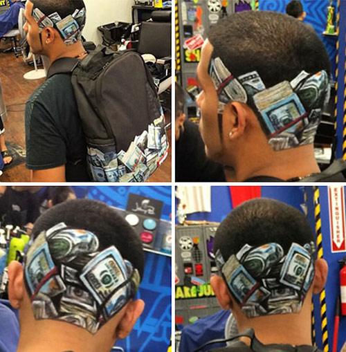 Chàng trai có biệt tài cắt tóc đẹp như tranh vẽ - 6