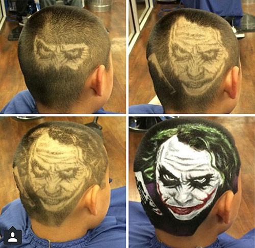 Chàng trai có biệt tài cắt tóc đẹp như tranh vẽ - 7