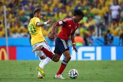 TRỰC TIẾP Brazil - Colombia: Bàn thắng muộn (KT) - 3