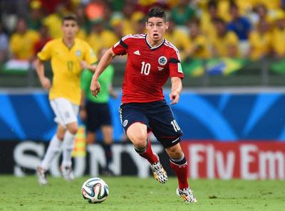 TRỰC TIẾP Brazil - Colombia: Bàn thắng muộn (KT) - 4